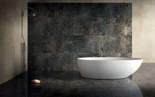White porcelain Nexion Tiles, Thickness: 9 mm, Unit Size: 8*4 Ft, | ID:  22207646655