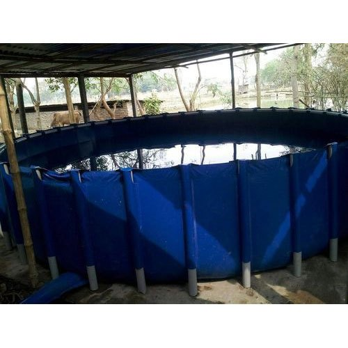 Round Shape Aquaculture Farm Tank