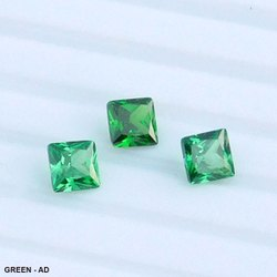 A. N. Gems Cubic Zirconia Square