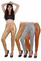 Looks Churidar Ladies Shimmer Leggings
