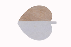 Heart Shaped Marble Cutting Board