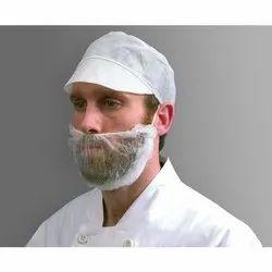 White Non Woven Beard Mask