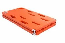 2-Fold Plastic Portable Spine Board