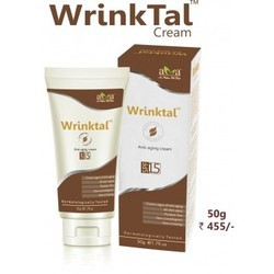 VEGETAL BIOACTIVES White Wrinktal Anti Wrinkle Cream, Pack Size: 50grams