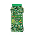 Green Hard Candy Kacha Aam Candy, Packaging Type: Plastic Jar