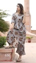 Ladies Cotton Palazzo Suit