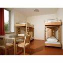 Hostel Wooden Bed