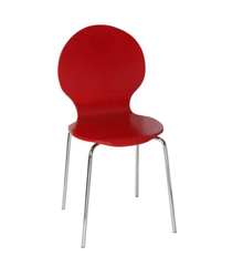 Century Fix Type Chair ( Chrome Plated )