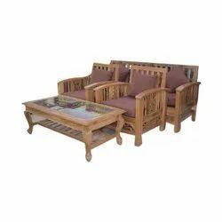 Antique Teakwood Sofa Set