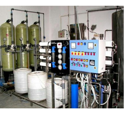 FRP And Stainless Steel RO Water Plant
