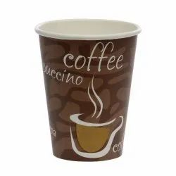 Biodegradable Disposable Paper Cup, Capacity: 45-75ml