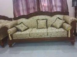 Antique Wooden Sofa