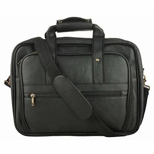 8b9aa7f49fdf3 Black Plain Laptop Bags, Rs 1350 /piece, OK International | ID ...