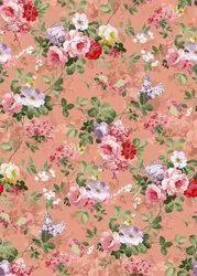 Moss Crepe Printed Fabric