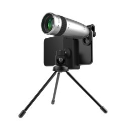 ROQ 20X Telescope Zoom Lens with High Definition Handheld Mobile Clip Tripod Kit