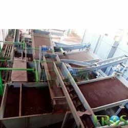 Eros Automatic Battery Breaking and Segregation Plant, Production Capacity: 5 ton/hr