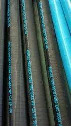 Black Concrete Pump End Hose 4 Mtr (Brand - KINFLEX), Size: 5