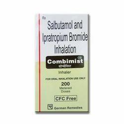 Combimist Inhaler ( Salbutamol & Ipratropium Bromide Inhalation)
