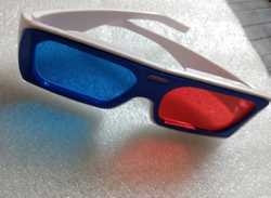 Red and Blue 3D Glass