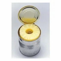 Natural Canned Pineapple Slices