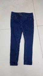 Blue,Black Casual Wear Denim Jeans