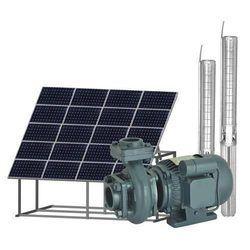 3 hp Three Phase Solar Monoblock Pump, Voltage: 220 V