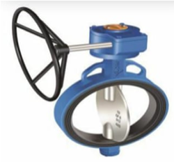 Butterfly Valve - CS - Gear Operated