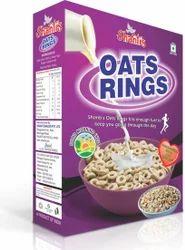 Shanti's 250 g Oats Rings, Packaging: Box