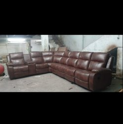 L Shape Leather Corner Sofa