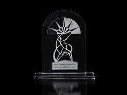 Aditya Birla Award Crystal Trophy