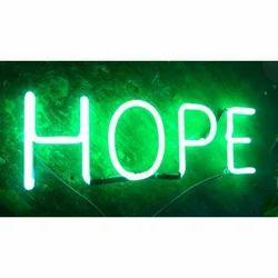 Neon Glow Sign Board