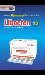 Baclofen Tablets IP 10 Mg