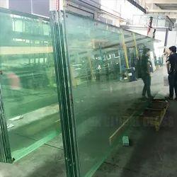 Transparent Toughened Glass, Size: 500, Shape: Flat