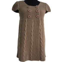 Womens Knitting Sweater Dress
