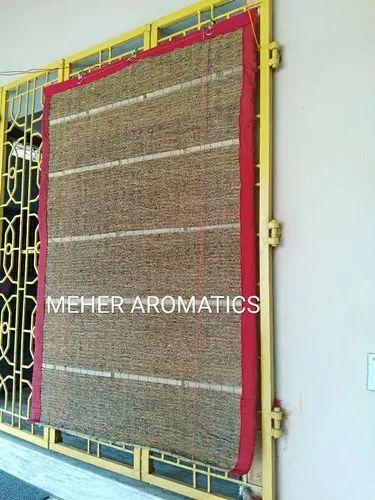 Meheraromatics Brown Vetiver Khus Aromatic Eco Friendly