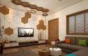 Living Room Interior Bungalow Interior Decor