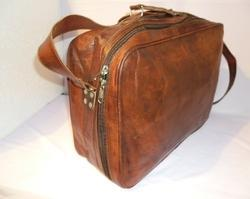 5609ffa05da Vintage Leather Bags - Leather Briefcase Look Bag Exporter from Jaipur
