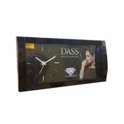 Analog Black Desktop Clock, for Home