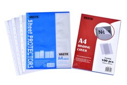 Oraganization Clear Sheet Protector, G2-3, Paper Size: A4, A3