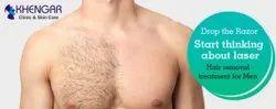 Laser Hair Removal For Men Services