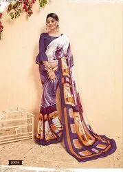 Rachna Georgette Stylla Catalog Saree Set For Woman 4