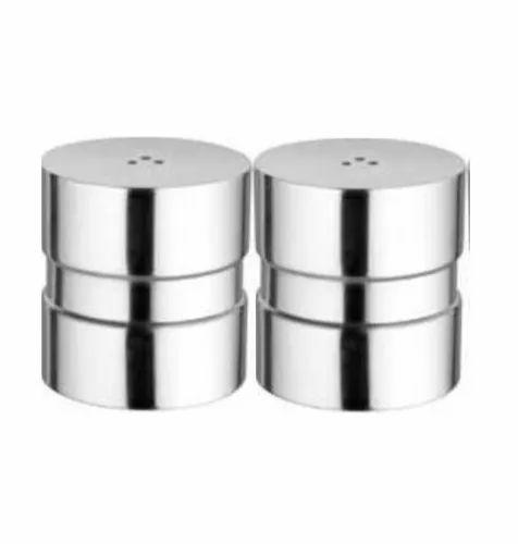 Venus Stainless Steel Salt Pepper Set Pattern Plain Rs 550 Set
