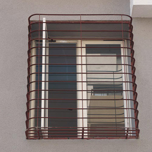 Outdoor Mild Steel Window Grill