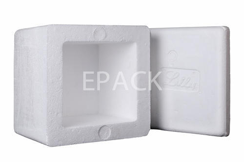 EPACK White THERMOCOL BOX FOR MEDICINE PACKAGING