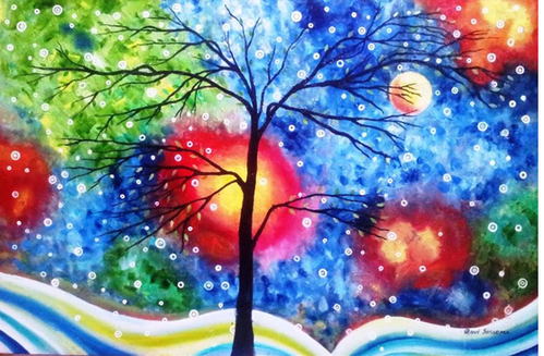 Nature Drawing Painting Pictures