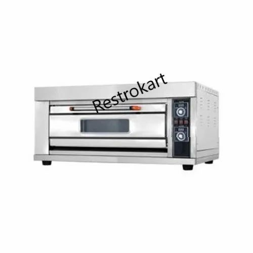 Double Deck Oven Electric and Gas Stone Pizza Ovens