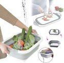3 In 1  Multi Functional Drain Sink Storage Basket And Gadget
