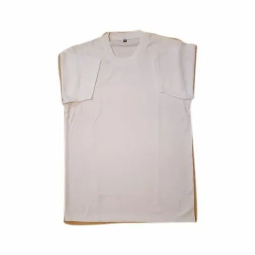 Lycra Cotton Half sleeve Mens Round Neck T Shirt, Size: S-XXL, Packaging Type: Packet