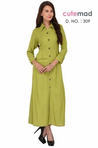 eb16d655ca Kurtis - Women's Cotton Front Button Kurti Wholesaler from Surat