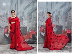 Saroj Luxuria Series 87001-87008 Stylish Part Wear Banglori Silk Saree
